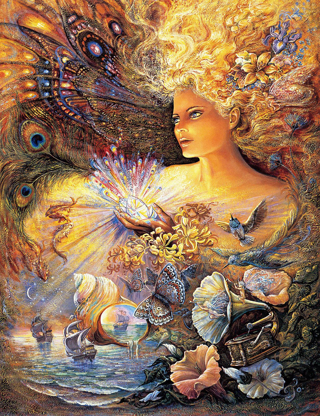 Жозефина Уолл — Мир богинь   yovo4ka