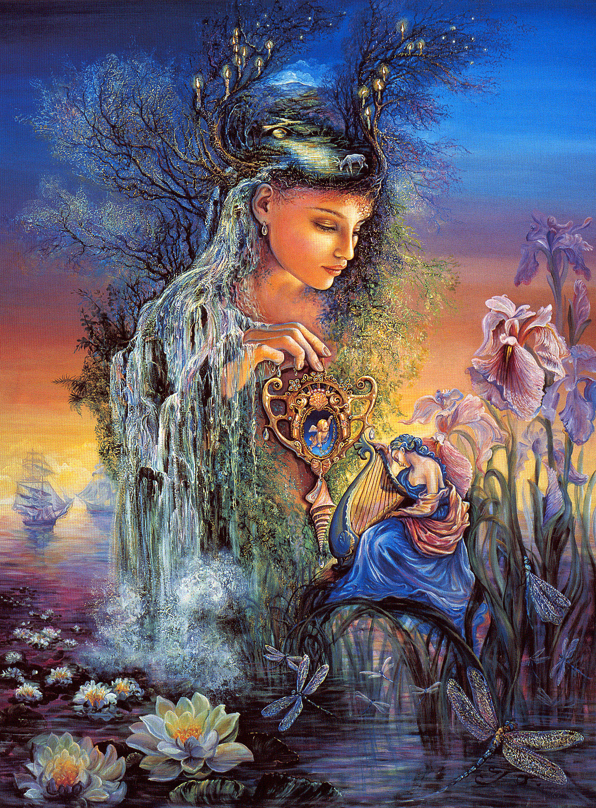 essays on goddess iris Find out more about iris, goddess of the rainbow and servant to the gods.
