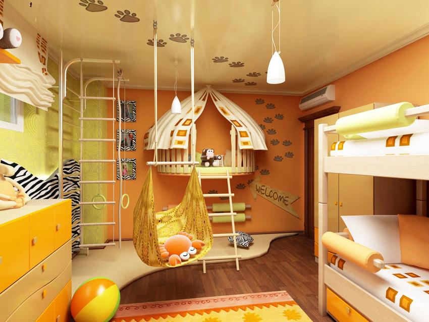 Детский дизайн интерьеров