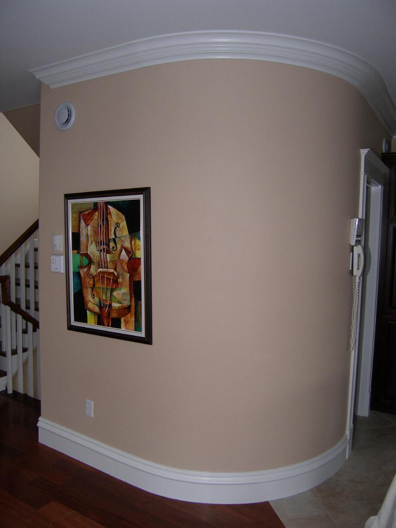 Как сделать закругленные углы в квартире